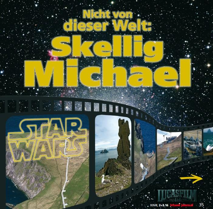 """1086 Star Wars auf Skellig Michael: """"Nicht von dieser Welt"""" ij 2+3.16"""