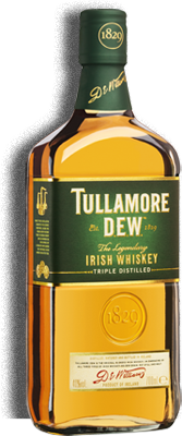 Tullamore D.E.W. Irish Whiskey 0,7 l