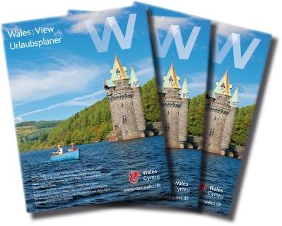 912 WALES: Urlaubsplaner