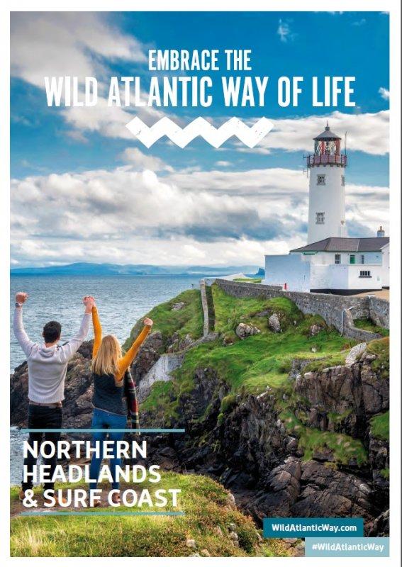 01307 Northern Headlands & Wild Atlantic Way- Broschüre