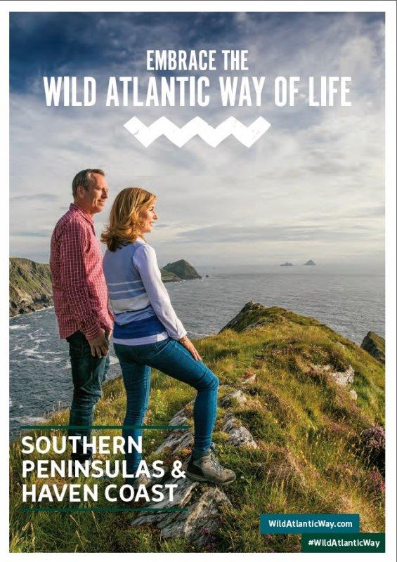 01306 Southern peninsula & Wild Atlantic Way - Broschüre