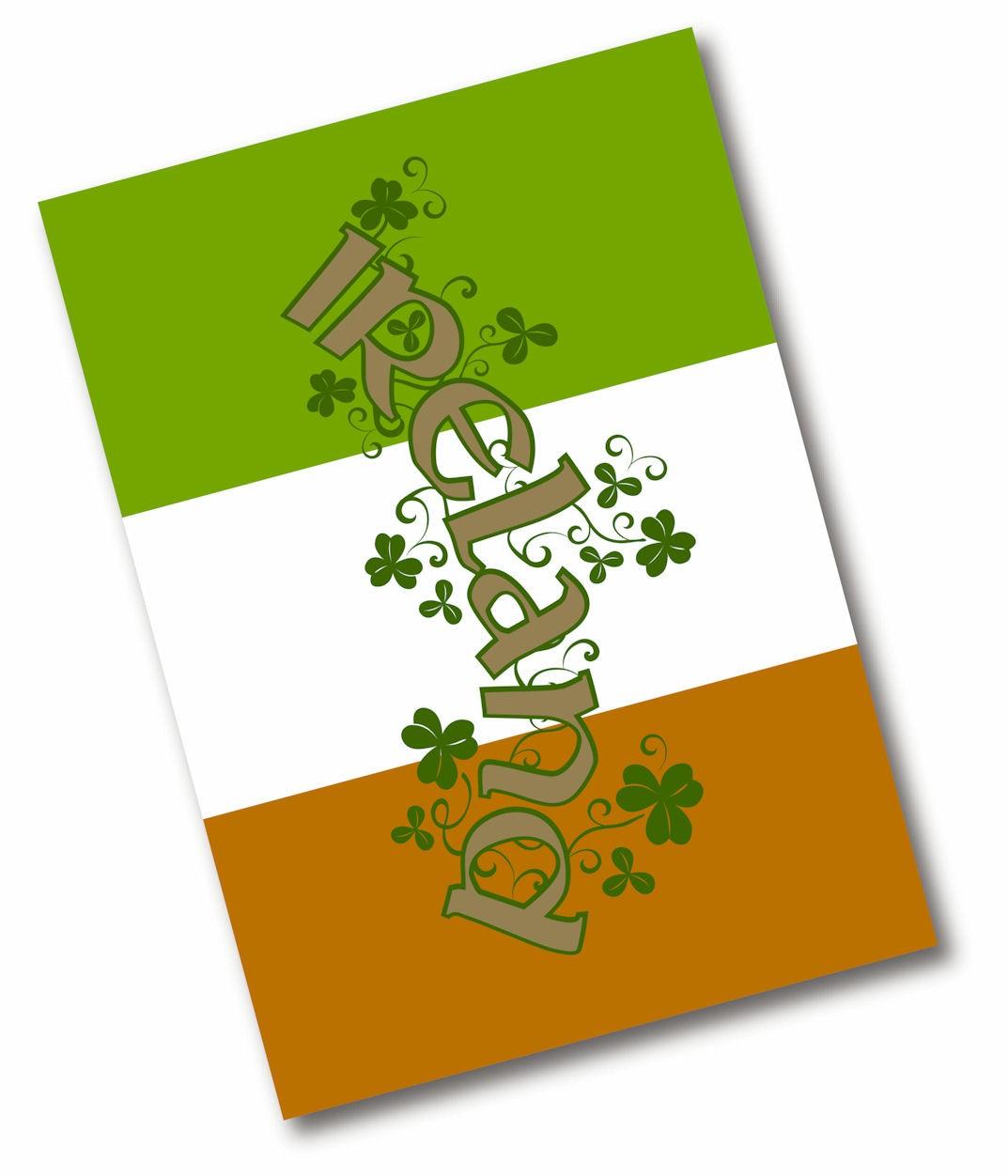 geschirrtuch ireland flag irish. Black Bedroom Furniture Sets. Home Design Ideas