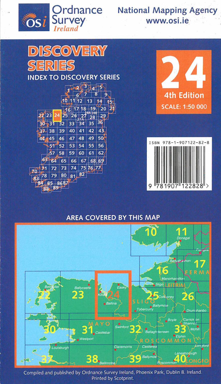 Mayo sligo nummer 24 irish for Discovery 24 shop
